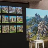 Bernard Bailly, Installation pour l'exposition LES MINIMES à Romont, décembre 2017