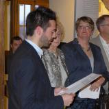 Bernard Bailly, Musée de Morat/Murten, vernissage, 2013