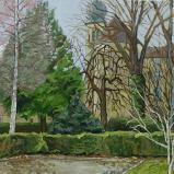 Bernard Bailly, Le Collège Saint-Michel en hiver