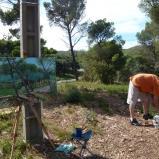 Bernard Bailly, Provence, Les Baux, Mas du Fléchon, 2010