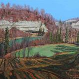 Bernard Bailly, Le Lac de Pérolle en automne