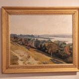 Bernard Bailly, Morat/Murten, exposition au muséet, tableaux d'Alfred Rehfous, 2013