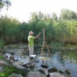 Bernard Bailly, Lac de Morat, Muntelier, Dorfmatt, juillet 2012