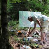 Bernard Bailly, Emmental, Räbloch, Naturbrücke, 2013