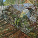 Bernard Bailly, Sainte-Apolline, 2010, Peinture acrylique sur toile, 65 x 81 cm