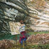 Bernard Bailly, Illens, 2020, Peinture acrylique sur toile, 100 x 80 cm